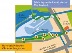 Wegeplan Ohremuehlengraben