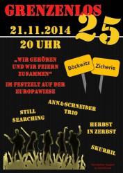 Grenzfest 21.11.2014
