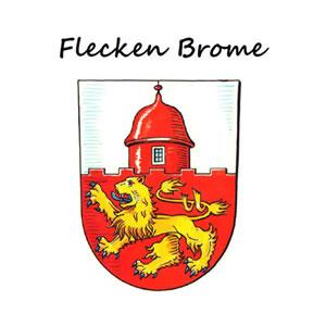 Wappen Flecken Brome